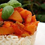 recette Poulet aux pommes et herbes aromatiques