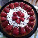 recette Gâteau bananes fraises facile
