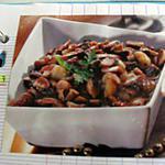 recette petite poelee de champignons