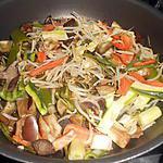 recette SPAGHETTI  CHINOISES  A  MA  FACON