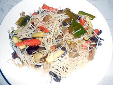 Spaghetti chinoises a ma façon 430