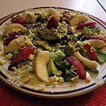 recette assiette crudités avec   fraises idée de la titemoi