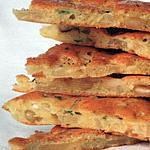 recette Biscuits aux pommes, au chèvre et aux noix