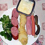 recette Raclette Franche-comté /Alsace