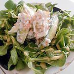 recette Salade avocat et surimi, aux accents des îles