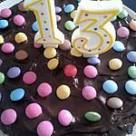 recette Quand chocolat et pâques s'emmêlent (fondant pour les 13 ans de mon fils Anthony)