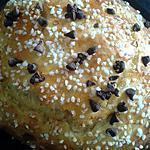 recette mouna de pâques aux pépites de chocolat