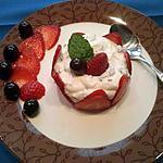recette Dessert aux fraises