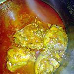 recette Poulet à l'indienne facile et délicieux