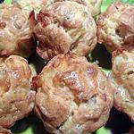 recette Muffins au saumon fumé et mozarella