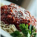 recette ~Sauce à spaghetti de Ricardo~