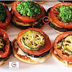 recette Mini pizza aux légumes