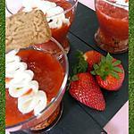recette Compotée de fraises-rhubarbe