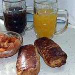 recette Petits pains au chocolat à l'orange