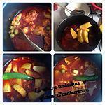 recette Ragoût de poulet et pomme de terre
