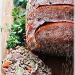 recette ~Pain de veau roulé miel et bacon~