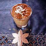 recette Mousse au chocolat caramel