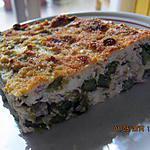 recette Omelette d'asperges au four
