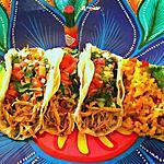 recette Tacos de poulet et Riz Mexicain