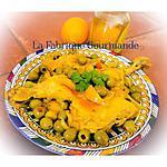recette Tajine de poulet aux olives et citrons confits