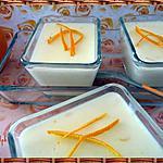 recette Crème à l'orange