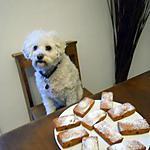 recette PETITS CAKES AUX FRUITS CONFITS