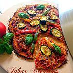 recette Pizza sur croûte de chou-fleur: