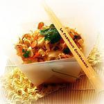 recette Ramen Coleslaw :Salade de chou et nouilles croquantes chinoise