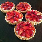 recette Tartelettes aux fraises.