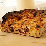 recette Quiche sans pâte aux tomates séchées & mozzarella
