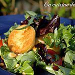 recette Salade aux quenelles de volaille