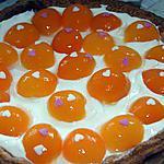 recette Tarte mascarpone/abricots