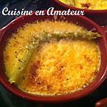 recette Crème brûlée d'asperge et parmesan