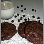 recette COOKIES 100% CHOCOLAT