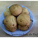 recette Cookies au chocolat blanc et noix de coco