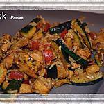 recette Wok Poulet Légumes Riz