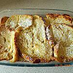 recette Gâteau de pain perdu