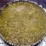 recette Compote de pommes. rhubarbe au micro-ondes.