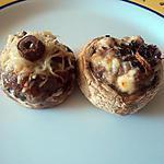 recette champignon farci au maredsous