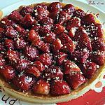 recette Tarte aux fraises & crème d'amande