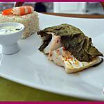 recette Papillote naturelle de lieu jaune et sa petite sauce.