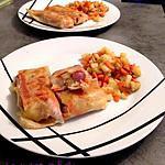 recette Bricks aux pommes de terre, carottes et knacks