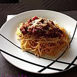 recette Spaghetti bolognaise vite faits de Cyril Lignac