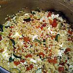 recette Pates aux légumes