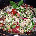 recette Taboulé quinoa saumon fumé