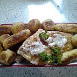 recette escalope de poulet panée avec croqquettes