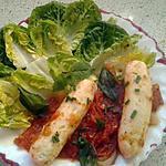 recette quenelles aux tomates fraiches et basilic