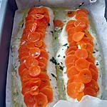 recette filet de merlu et ses carottes