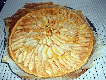 Tarte fine pommes poire 430