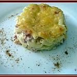 recette Gratin de macaroni carbonara